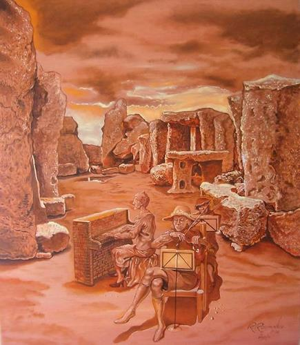Ramaz Razmadze, The Lost Band, Fantasie, Musik: Musiker, Postsurrealismus, Expressionismus