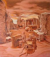Ramaz-Razmadze-Fantasie-Musik-Musiker-Gegenwartskunst-Postsurrealismus