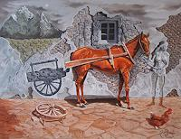 Ramaz-Razmadze-Fantasie-Tiere-Land-Gegenwartskunst--Postsurrealismus
