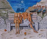 Ramaz-Razmadze-Diverse-Romantik-Fantasie-Gegenwartskunst--Postsurrealismus