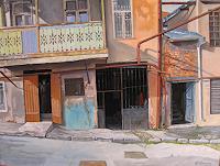 Ramaz-Razmadze-Diverse-Bauten-Fantasie-Gegenwartskunst--Postsurrealismus