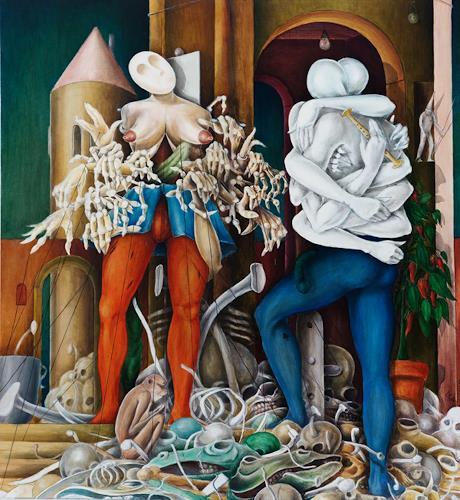 Zoran Velimanovic, Hermaphrodite's Memory, Fantasie, Expressionismus