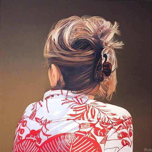 Jacques Bodin, De dos, Diverses, Fotorealismus, Expressionismus