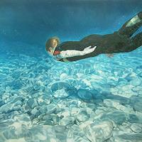Jennifer-Walton-Menschen-Kinder-Natur-Wasser-Gegenwartskunst-Gegenwartskunst