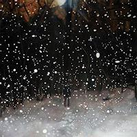 Jennifer-Walton-Landschaft-Winter-Weltraum-Gestirne-Neuzeit-Realismus