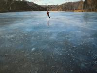 Jennifer-Walton-Sport-Landschaft-Winter-Gegenwartskunst-Gegenwartskunst