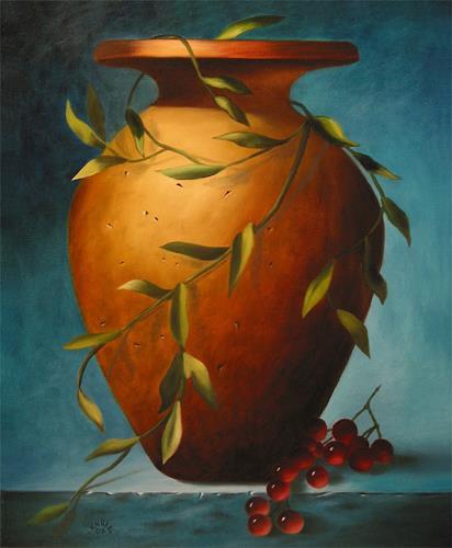 Vladimira Knüsel, Amphora, Stilleben, Natur: Erde, Land-Art