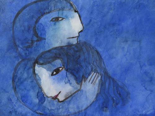 Helga Hornung, Verliebt, Menschen, Fantasie, Moderne