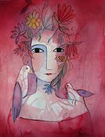 Helga-Hornung-Menschen-Frau-Fantasie-Gegenwartskunst-Gegenwartskunst