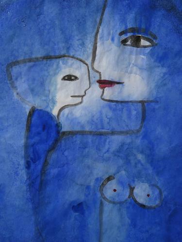 Helga Hornung, Amanda, Menschen: Frau, Mythologie, Gegenwartskunst