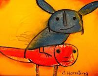 Helga-Hornung-Fantasie-Skurril-Gegenwartskunst-Gegenwartskunst