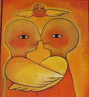Helga-Hornung-Fantasie-Moderne-Naive-Kunst