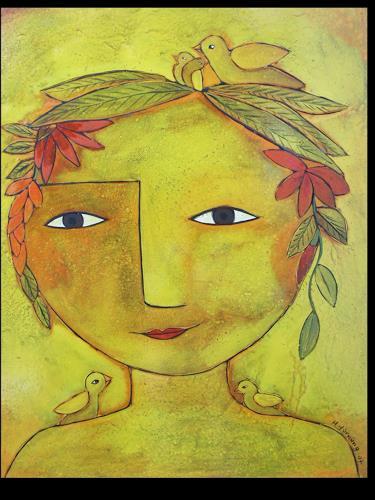 Helga Hornung, Sonnenfrau, Fantasie, Pluralismus, Expressionismus
