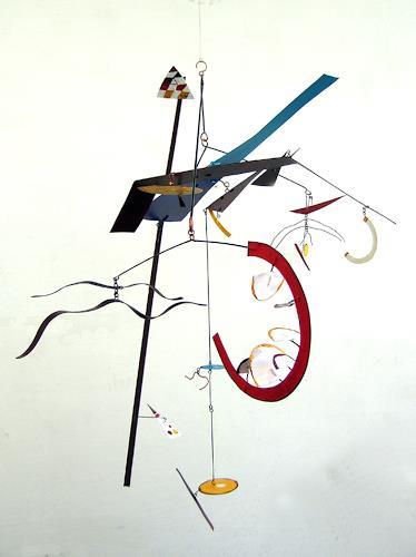 Timothy Rose, Small Arc Point Mobile, Abstraktes, Technik, Konstruktivismus, Abstrakter Expressionismus