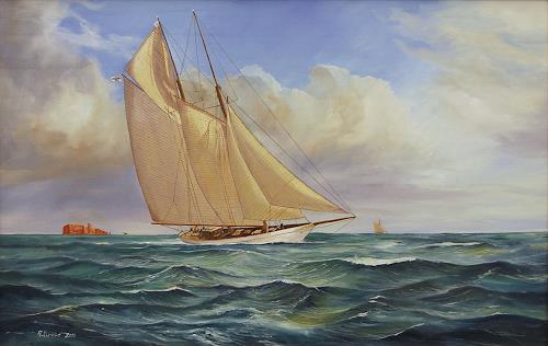 Andreas Kruse, kaiserliche Yacht Meteor IV, Geschichte, Verkehr: Schiff, Realismus