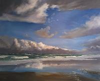 A. Kruse, Norderney- Strandspiegelungen