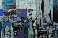 Georgi-Demirev-Landschaft-Strand-Fantasie-Moderne-Abstrakte-Kunst-Action-Painting
