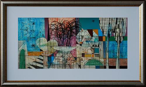 Georgi Demirev, Landscape, Landschaft: Ebene, Abstraktes, Kubismus
