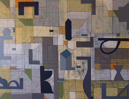 Georgi Demirev, Composition, Abstraktes, Fantasie, Abstrakte Kunst, Expressionismus