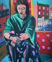 Erik-Slutsky-Menschen-Frau-Gefuehle-Liebe-Moderne-Expressionismus-Neo-Expressionismus