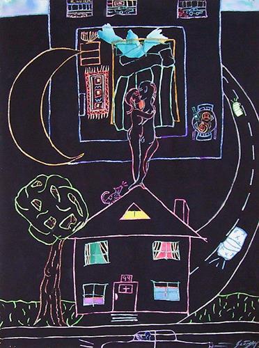 Erik Slutsky, City/Country/ Lovers No More, Gefühle: Liebe, Menschen: Paare, Postmoderne