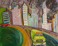 Erik-Slutsky-Bewegung-Architektur-Gegenwartskunst--New-Image-Painting