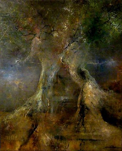 Juan Miguel Giralt, Dreamt Forest, Natur: Diverse, Diverse Landschaften, Neo-Expressionismus, Expressionismus