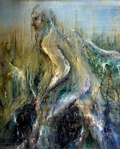 Juan Miguel Giralt, Corporal Arborescence, Menschen: Mann, Bewegung, Neo-Expressionismus, Abstrakter Expressionismus