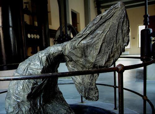 Lino Budano, Whale, Tiere: Wasser, Abstrakter Expressionismus