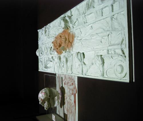 Lino Budano, Visible Human, Technik, Gegenwartskunst, Abstrakter Expressionismus