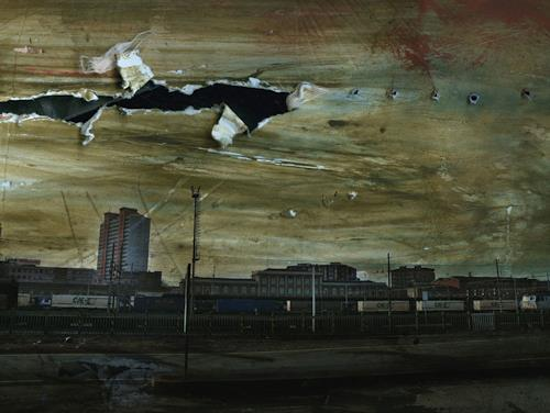 Lino Budano, Ferrovia, Architektur, Industrie, Postmoderne, Abstrakter Expressionismus