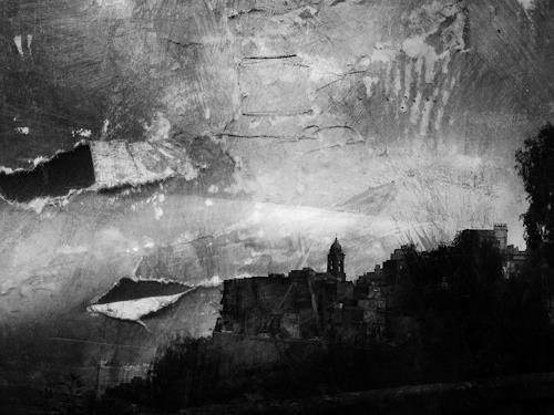 Lino Budano, Butera-Sicilia, Fantasie, Landschaft: Ebene, Postmoderne