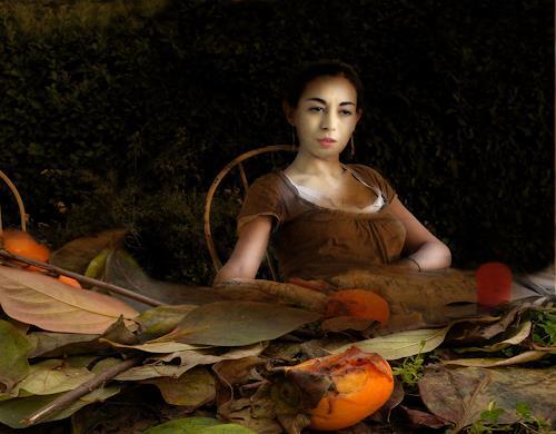 Lino Budano, Veronica, Menschen: Porträt, Diverse Romantik, Postmoderne, Expressionismus
