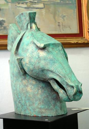 Dambros Ferrari, Horse, Tiere: Land, Tiere: Land, Postmoderne