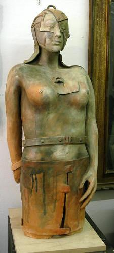 Dambros Ferrari, Archeo/ricovery, Menschen: Frau, Menschen: Frau, Postmoderne, Abstrakter Expressionismus