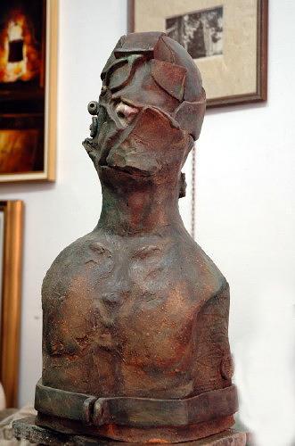 Dambros Ferrari, self.portrait, Menschen: Porträt, Abstraktes, Postmoderne