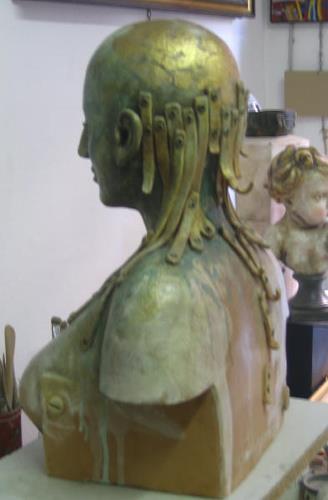 Dambros Ferrari, Atelier, Menschen: Frau, Menschen: Frau, Postmoderne