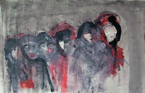 emilio merlina, choose your guardian angel, Fantasie, Abstrakter Expressionismus