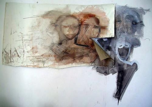 emilio merlina, welcome home, Fantasie, Abstrakter Expressionismus