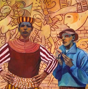 Kunst von jonathan franklin