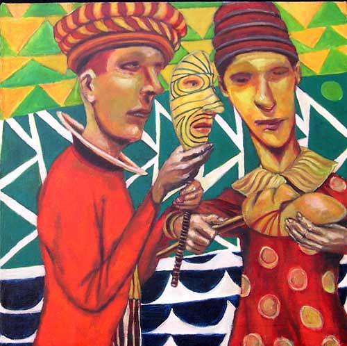 jonathan franklin, Good Looks, Gefühle: Stolz, Karneval, Neo-Expressionismus