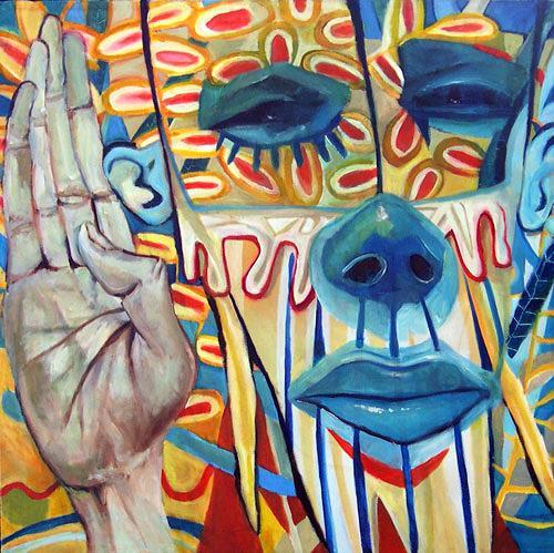jonathan franklin, Salute, Zirkus: Clown, Karneval, Neo-Expressionismus, Abstrakter Expressionismus