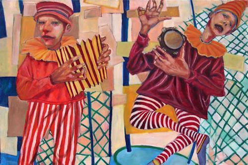 jonathan franklin, O/T, Musik: Musiker, Karneval, Neo-Expressionismus