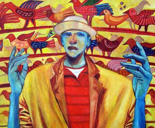 jonathan franklin, Aviator, Zirkus: Clown, Karneval, Neo-Expressionismus