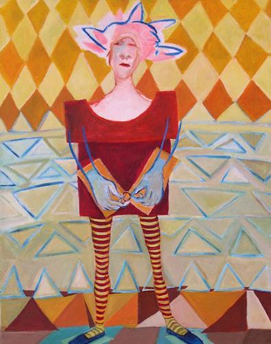 jonathan franklin, Box STep, Fashion, Karneval, Neo-Expressionismus