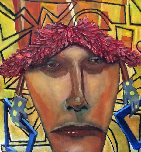 jonathan franklin, Good Weave, Menschen: Porträt, Karneval, Neo-Expressionismus, Abstrakter Expressionismus