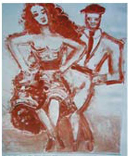 Jean-Pierre CHEVASSUS-AGNES, CARMEN TORERO DANCE, Poesie, Mythologie, Barock