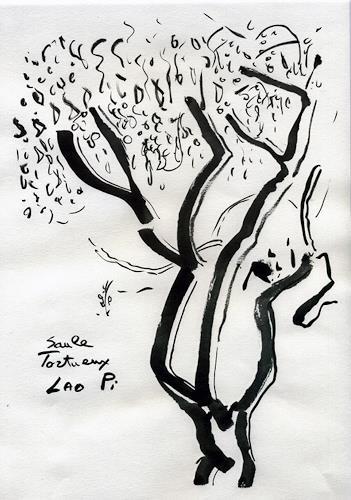 Jean-Pierre CHEVASSUS-AGNES, SAULE TORTUEUX, Pflanzen: Bäume, Symbol, Barock