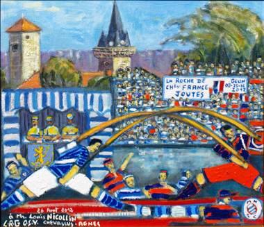 Kunst von Jean-Pierre CHEVASSUS-AGNES