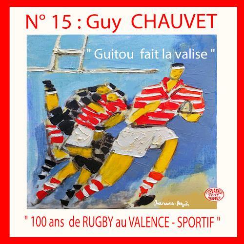 Jean-Pierre CHEVASSUS-AGNES, RUGBY N15, Sport, Gefühle: Freude, expressiver Realismus